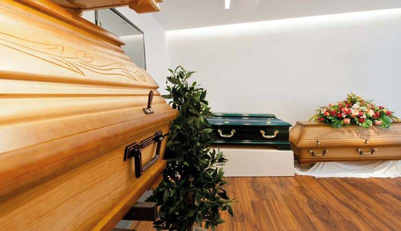 Räumlichkeiten Särge Bestattungen Schmid
